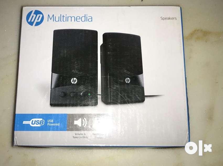 HP Multimedia USB speakers for PC 0