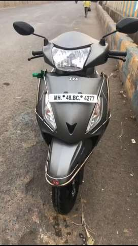 TVS jupiter 2018 matte grey colour