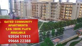 At Patancheru Gated Apart 1,2 &3Bhk flats