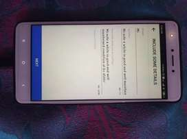 Mi note 4 white in good and well maintained condition at Rs 4500/-
