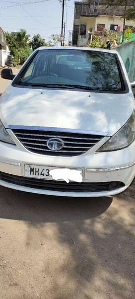White color diesel tata manza