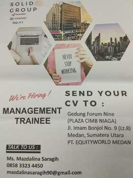 Lowongan Management Trainner