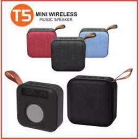 SPEAKER MINI T5 WIRELESS MUSIC BLUETOOTH USB RADIO PORTABLE