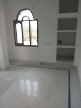 Two bhk flat with one dining hall,kitchen,bathroom and balcony