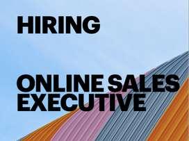 online sales executive