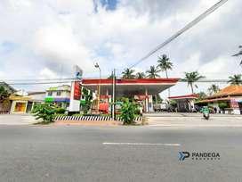 SPBU Masih Beroperasi Aktif Lokasi Strategis di Pusat Kota Dekat Tugu