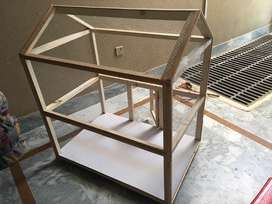 Birds wooden cage