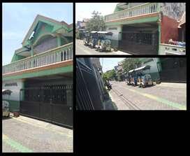 Rumah Oper kredit 2Lantai siap huni, DpMurah bangunan luas daerah sda