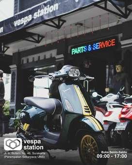 Bengkel Vespa Matic Modern Sprint Primavera LX S GTS di Solo