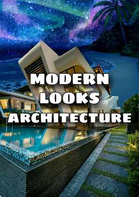Modern looks construction,architecture and home designs