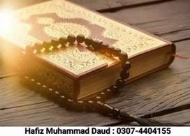 Quran tutor available (5 years experience)