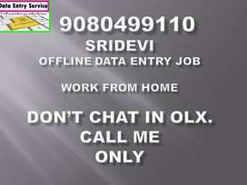 Yummy Offers for Part Time Jobs Call Me Sridevi