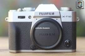 BO Fujifilm XT10 silver mulus