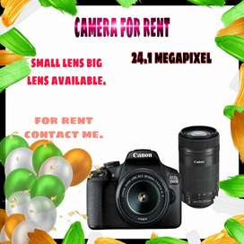 Camera for rent