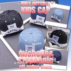 M&S MENSTUFFTOKO1973-68 - 2020 Children cap : USN - topi anak2 topi