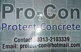 Pro-con. Roof heat proofing roof waterproofing
