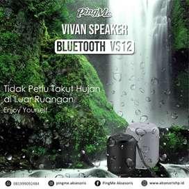 Vivan VS12 Bluetooth Speaker 360, aksesoris, powerbank, bali