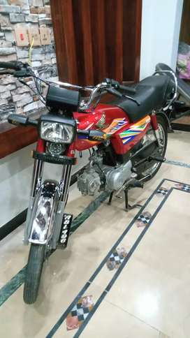 Honda CD 70 2020 All punjab no