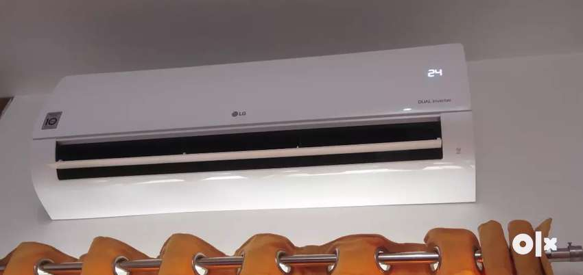 Lg 1.5 ton ac 1 month old only