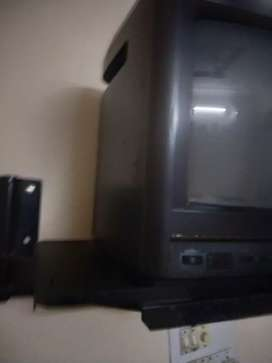 Small t.v with stand