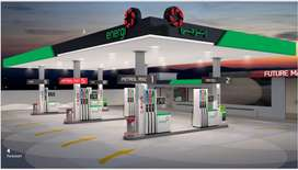 Petrol Pump Plot available 2938sqyd