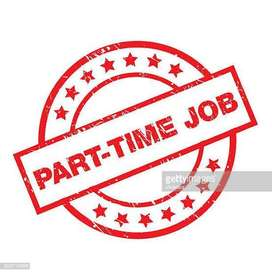 Home basis part time job. You may do work in mobile/laptop/computer.