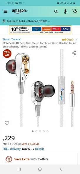Earphones.#mobigenie #new