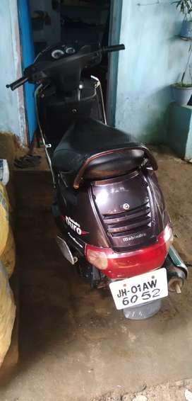 My scooty  in a condition