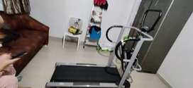 2 in 1Treadmill and hydrolic cycle.