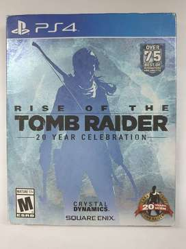 BD PS4 Rise Of The Tomb Raider Reg All 2nd
