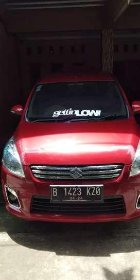 Suzuki Ertiga GX matik  low km th 2014 mulus dan bagus
