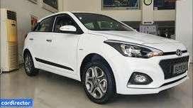 Hyundai Elite i20 2019 Petrol 7000 Km Driven color white