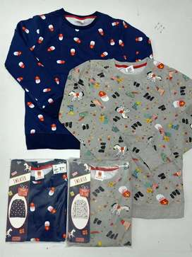 Boys and girls branded sweart shirts