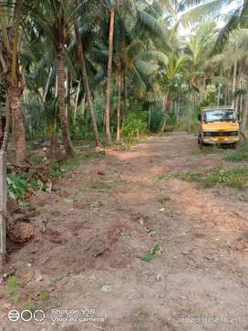 Negotiable 3.50 lakh flattened clear land near guruvayur