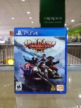 BD PS4 Divinity II 2 Original Sin game cd kaset bluray playstation 4