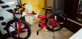 Foldable bicycle in mint condition.