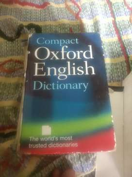Oxferd  english dictionary  and other books