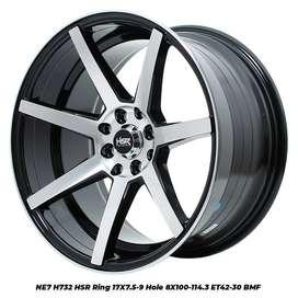 VELG RACING R17 NE7 HSR LEBAR 75/9 HOLE8 BMF