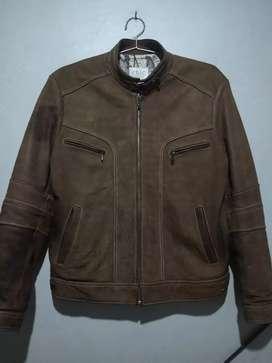 Jual jaket kulit vintage