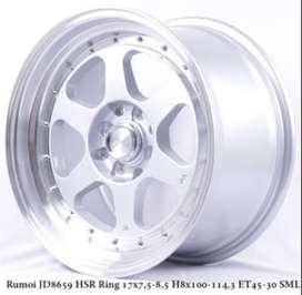 RUMOI JD8659 HSR R17X75-85 H8X100-114,3 ET45-30 SMFL