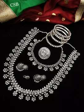 Attractive Jewellery set Price starting from 1600/-