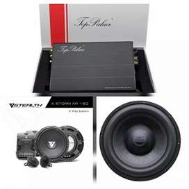 Paket Audio Prosesor Built In Power TOP PALACE, Stealth