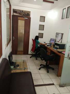 Furnished 250 sq feet office for rent sector 8 chd