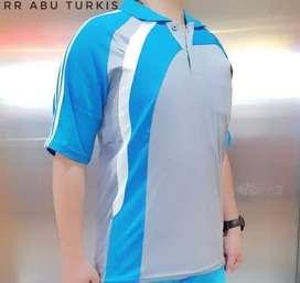 Baju Kaos Training Olahraga Lengan Pendek Kaos Lari Badminton Setelan