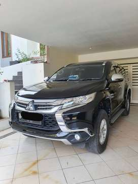 Pajero Sport Exceed 4x2 AT Hitam 2016 Bandung Low Km