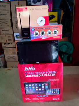 Paket Tv Double din+Antena tv booster+Camera mundur+ Psng