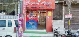 Rented Shop is Available with full restaurant Setup at Govind Nagar