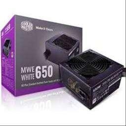 Power Supply COOLER MASTER Mwe 650Watt 80+White Garansi Resmi