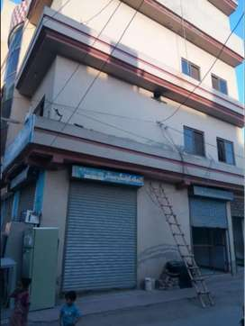 3.5 Marla Commercial Plaza for sale in Ghouri town Incoming rent 88k