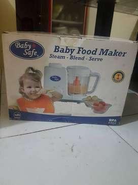 Baby safe Food maker pembuat makanan bayi steam blend serve kukus